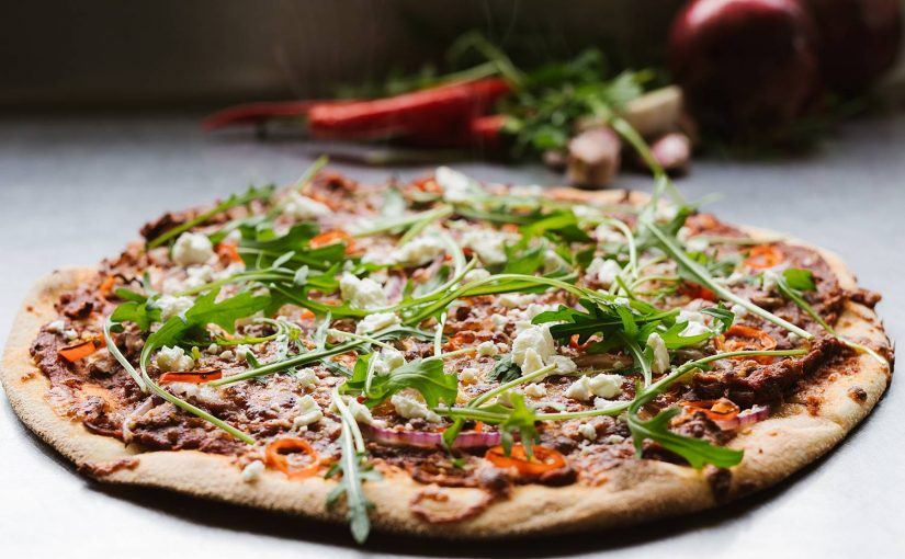 Tasty looking pizza